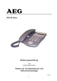 BDA Rio 60 Voice 25.09.03.pmd - JET GmbH