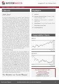 Das Investor Magazin - Ausgabe 65 - Seite 2