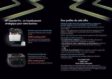 HP LaserJet Pro - Rue du Commerce