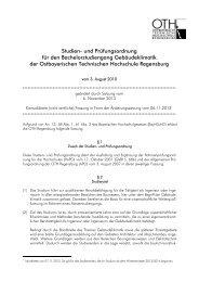 Konsolidierte (nicht amtliche) Fassung in Form der Änderungssatzung