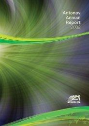 Antonov Annual Report 2009 - Alle jaarverslagen