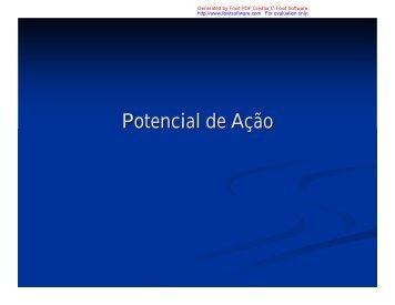 Potencial de Ação - Ucg