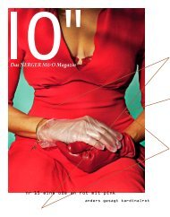 Das NERGER M&O Magazin