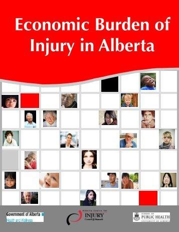 Economic Burden of Injury.pub - Alberta Centre for Injury Control ...