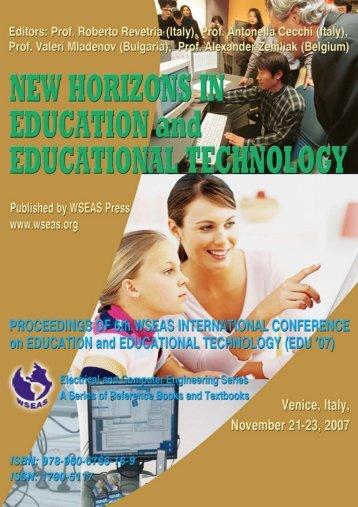 NEW HORIZONS IN EDUCATION.jpg - WSEAS