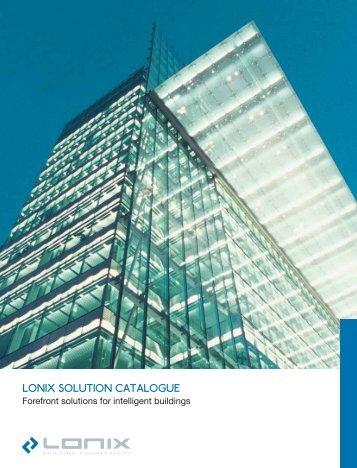 LONIX SOLUTION CATALOGUE
