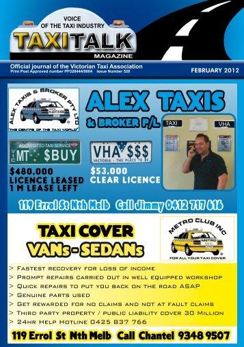 Download (9 MB) - Taxi Talk Magazine