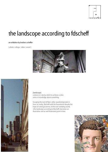 the landscope according to fdscheff