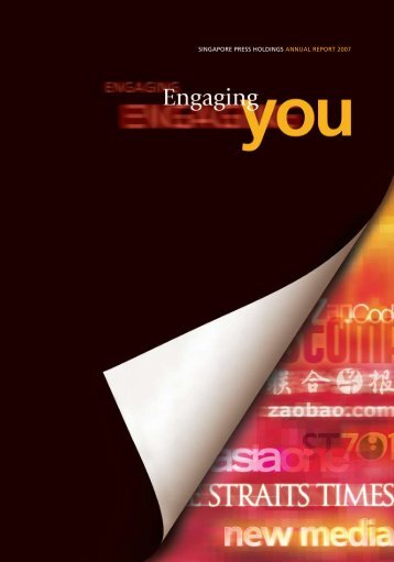 SINGAPORE PRESS HOLDINGS ANNUAL REPORT 2007 ...