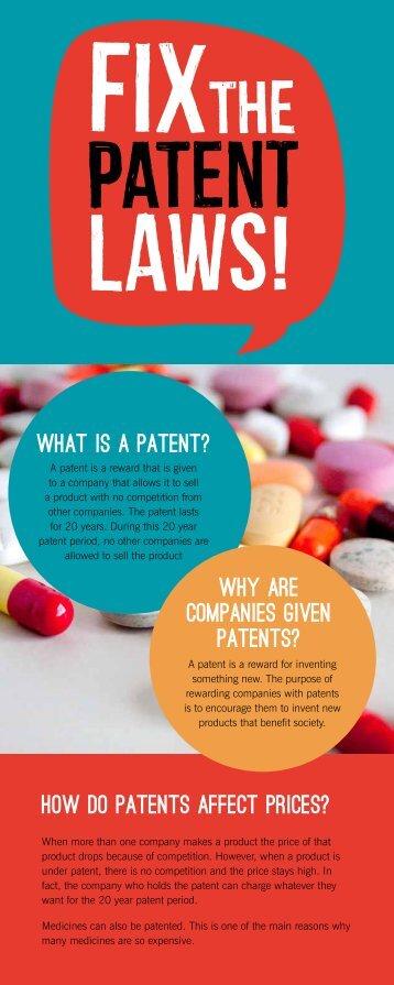 Fix the patents web