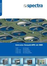 Unitronics Kompakt-SPS mit MMI - Spectra Computersysteme GmbH