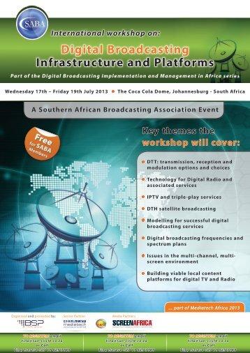Download Brochure & Registration form - Screen Africa