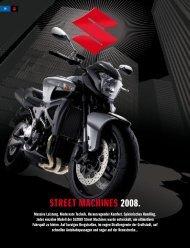 street MACHINes 2008. - Suzuki