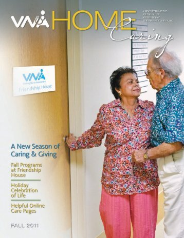 Fall 2011 - the Visiting Nurse Association of Northern New Jersey