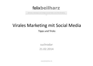 Virales Marketing mit Social Media