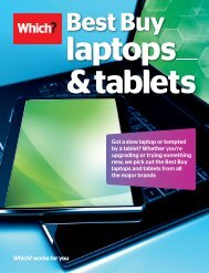 Laptops & Tablets - Which.co.uk