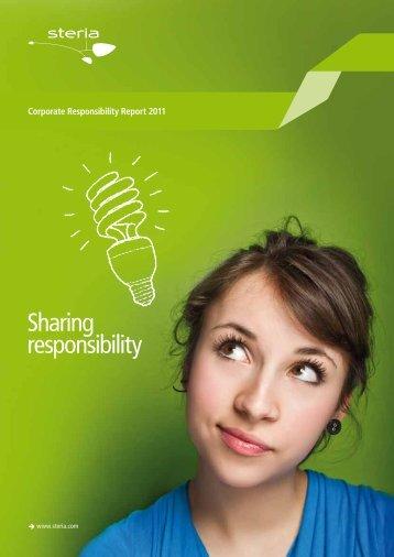 CR Report 2011 - Steria