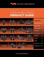 North America Land Mobile Radio Product Guide