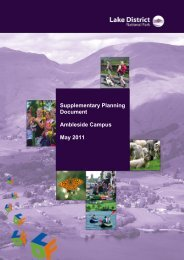 Adopted Ambleside Campus Supplementary Planning Document