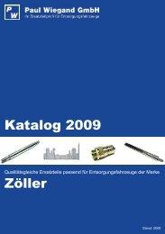 Katalog 2009 Zöller - Paul Wiegand GmbH