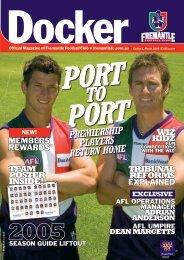 FD25a Docker MAR05-REV.indd - Fremantle Football Club