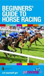 BEGINNERS GUIDE.indd - Horse Racing Ireland