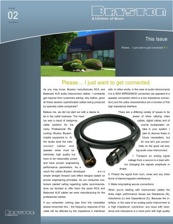 Volume 8, Issue 2 - Bryston