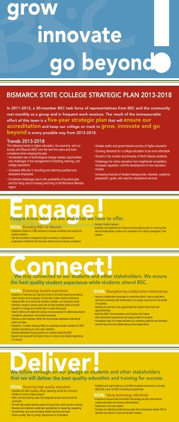 Link to Strategic Plan 2012-18 - Bismarck State College