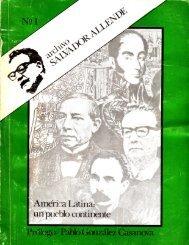 Archivo Salvador Allende N° 1