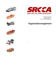 Reglement Organisation SRCCA 2012
