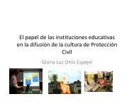 El papel de las instituciones educativas en la difusión de la ... - UAM