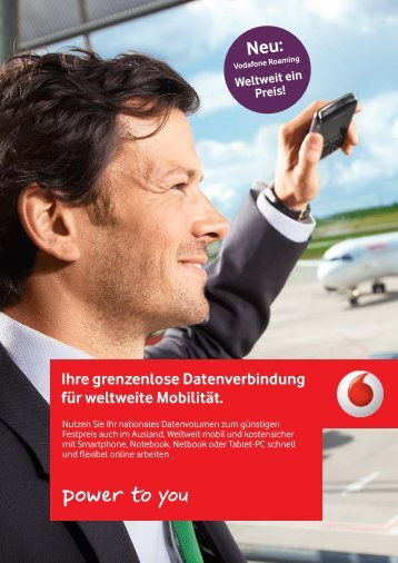 Vodafone International Datentarife - Unified Solution GmbH