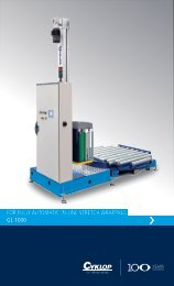 FOR FULLY AUTOMATIC IN-LINE STRETCH WRAPPING GL 1000