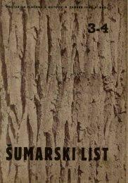 ÅUMARSKI LIST 3-4/1950