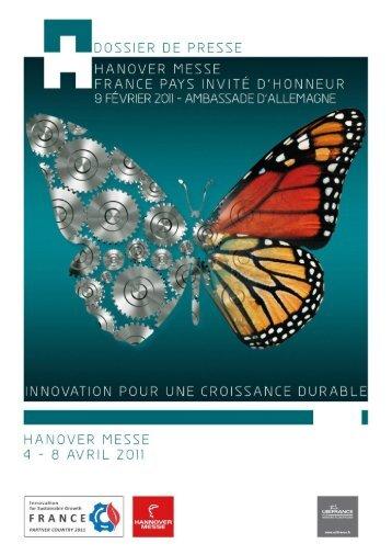 Dossier de presse Foire de Hanovre 2011 - UBIFRANCE