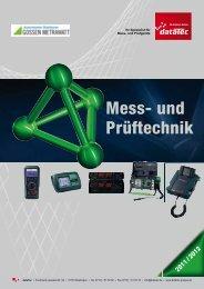 Gossen Metrawatt Katalog 2011 / 2012 Mess- und Prüftechnik