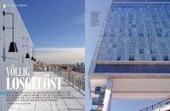 New York, hoch wie Nie. hotelpioNier ANdré BAlAzs ... - Robert Kropf