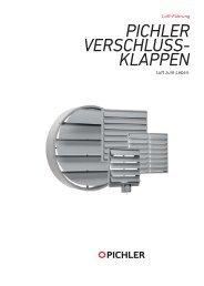 Verschlussklappen - Pichler