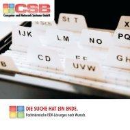 CSB - Computer und Netzwerk Systeme Gmbh
