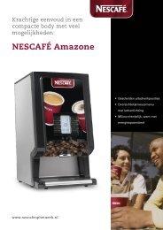 Nescafé Amazone L brochure - Koffieautomaat.nl