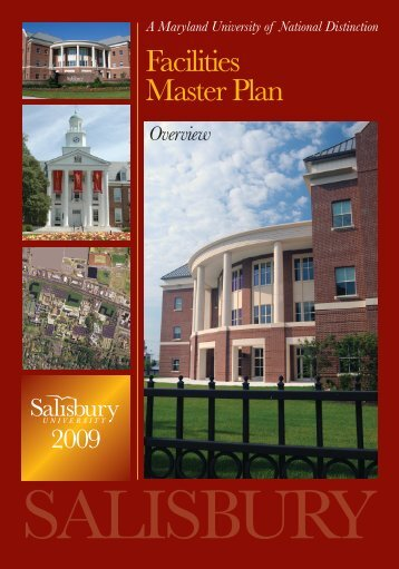 Facilities Master Plan - Salisbury University