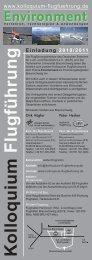 Kolloquium Flugfuehrung - Kolloquium-Flugführung
