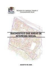 DIAGNÓSTICO DAS ÁREAS DE INTERESSE SOCIAL - Prefeitura ...