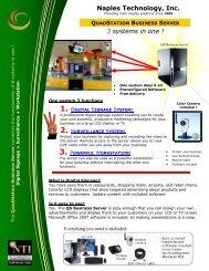 Download QS Business Server Brochure - NaplesTech.com