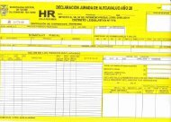 Formularios para la Declaracion Jurada del Impuesto Predial