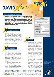 powered by LINUX sicher - schnell - günstig - Data Vital
