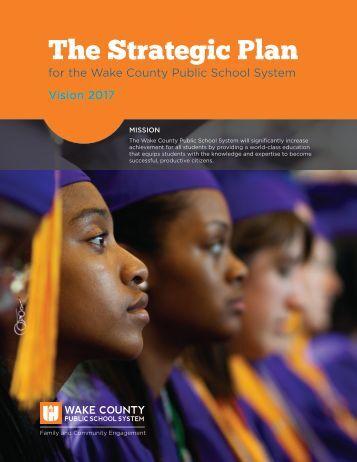 The Strategic Plan - Wake County Public School System