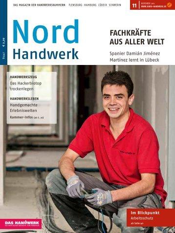 FacHkräFte aus aller welt - Nord-Handwerk