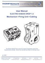 Electro Kabuki System User Manual - Flint Hire & Supply