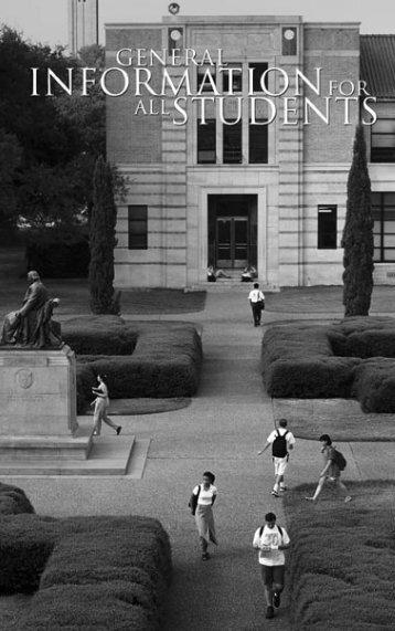 General Information - Rice University
